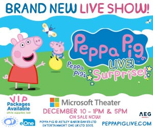 FUN WITH KIDS IN LA - PEPPA PIG LIVE