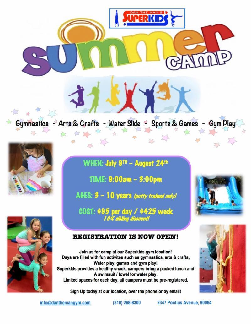 Superkids, Dan The Man Superkids, Fun With Kids in LA, Summer Camps, Summer Camp in LA, Best Summer Camp in LA