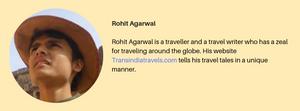 ROHIT ARGAWAL - TRANS INDIA TRAVLES
