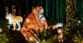 """""""LA Zoo Lights"""" Returns This Holiday Season With the World's Largest Illuminated Pop-Up Storybook!"""