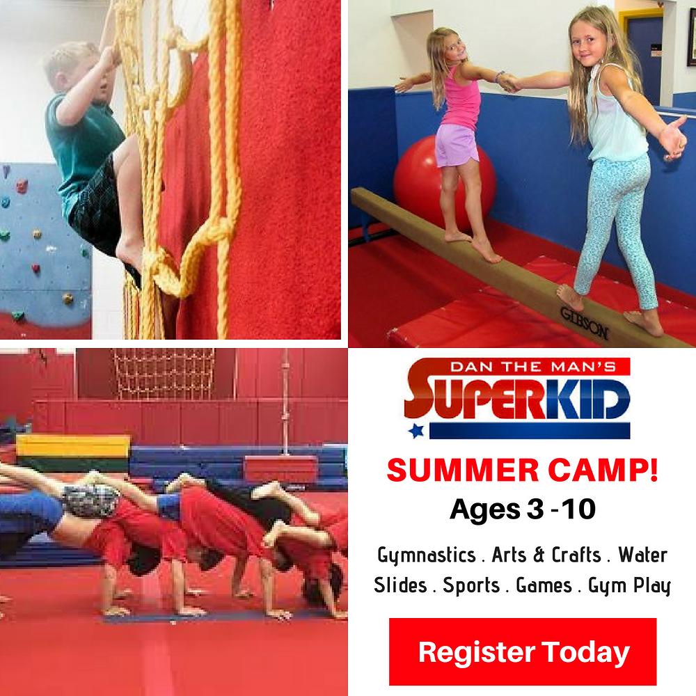 Dan the Man SuperKids, Gymnastics, Summer Camp, Fun With Kids in LA