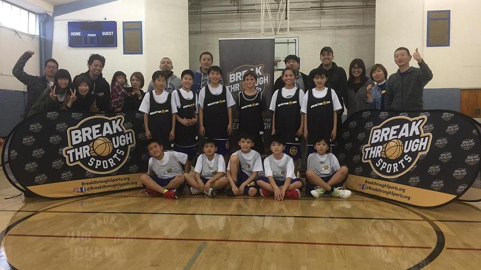 Breakthrough Sports Basketball Summer Camps