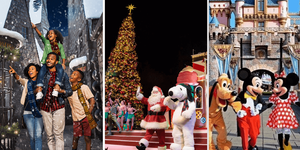 Holidays at the California Theme Parks!