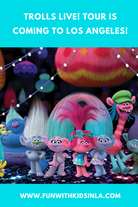 Trolls LIve Tour is coming to Los Angeles at Microsoft Theater