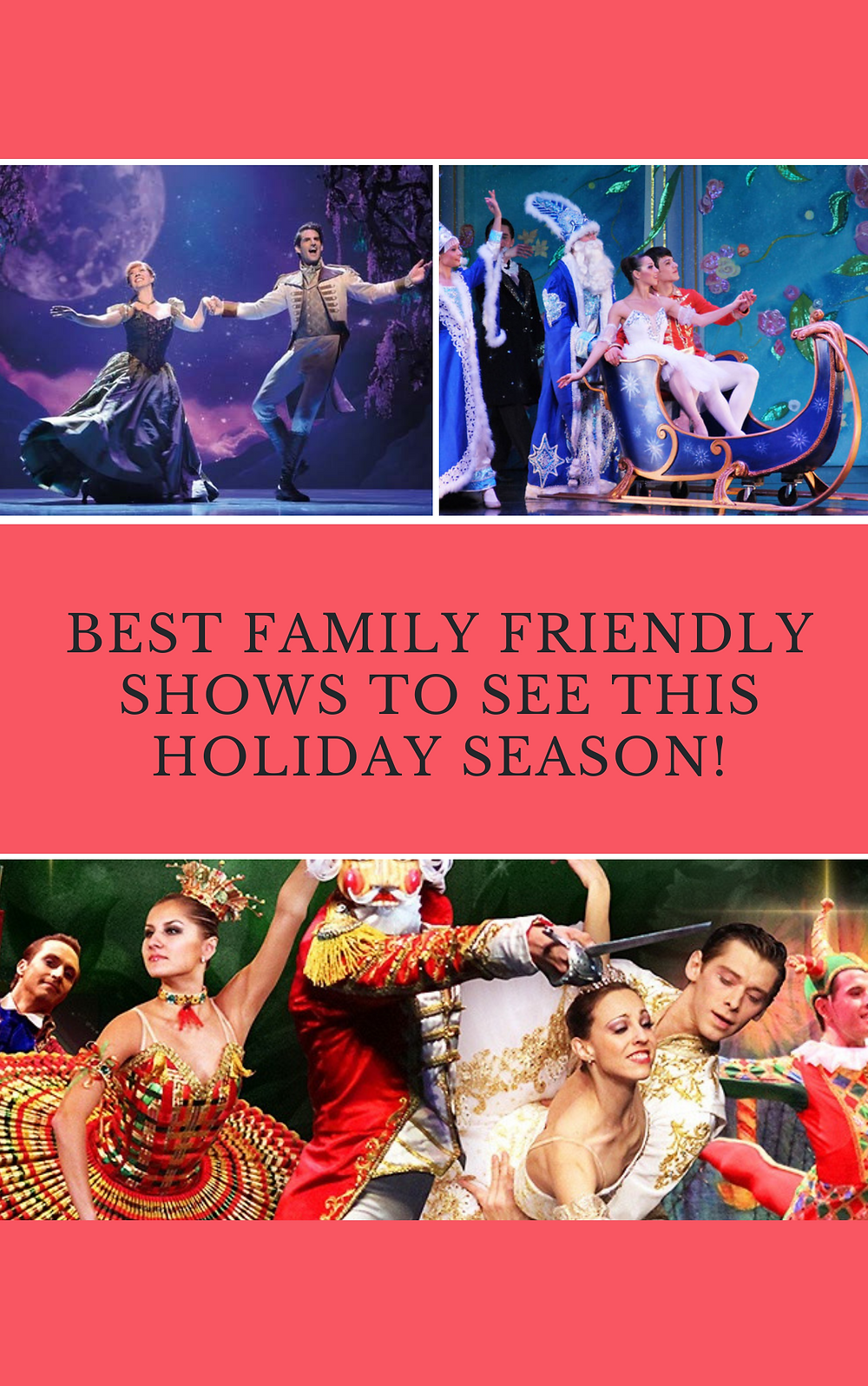 best holiday shows 2019 for families