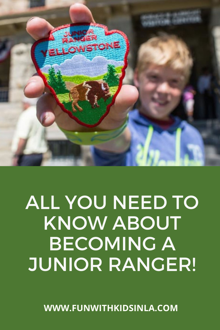 How To Become a Junior Ranger - FUN WITH KIDS IN LA