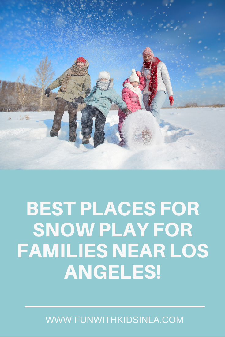 More Places Where You Can Play in the Snow Near Los Angeles