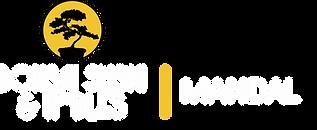 Bonsai Sushi Mandal hvit logo.png