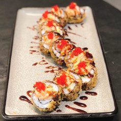 Nr 23. Spicy crispy maki spesial, serveringsmeny