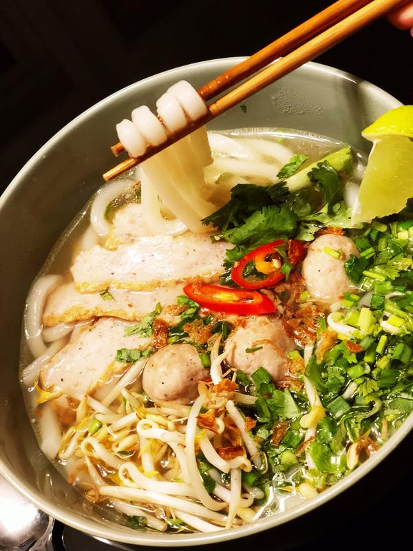 Nr 9. Banh pho, serveringsmeny