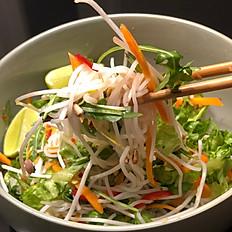 Nr 24. Spicy vegetar thai nuddelsalat
