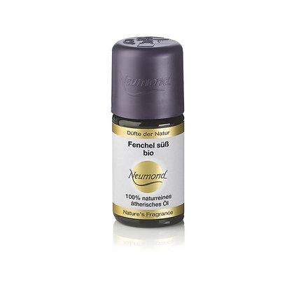 Fenchel süß bio, 100 % naturreines ätherisches Öl