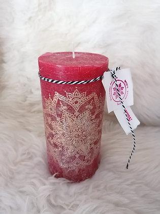 Handbemalte Rustico-Kerzen