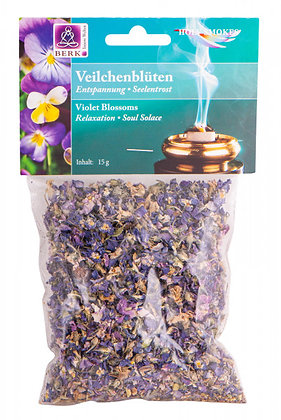 Veilchenblüten (Viola odorata) zum Räuchern