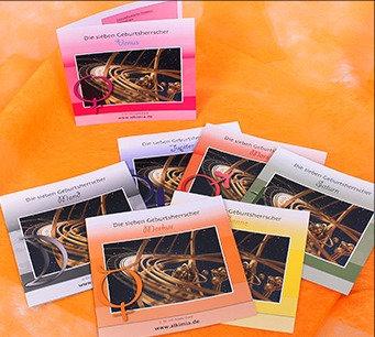 Geburtsherrscher-Broschüren Paket 7x7