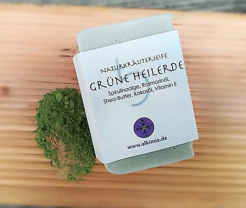 Grüne Heilerde-Naturseife, 110 g