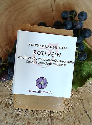 Rotwein-Naturseife, 110 g