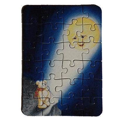 """Benny Energie Bär Puzzle """"Mond"""""""