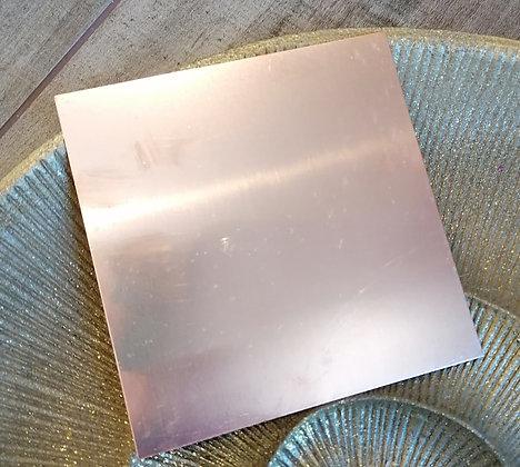 Kupferplatte für Orgonite