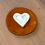 Thumbnail: Keramikteller rund für Duftsteine