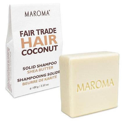 Maroma Haarseife Zedernholz Cocos & Shea Butter