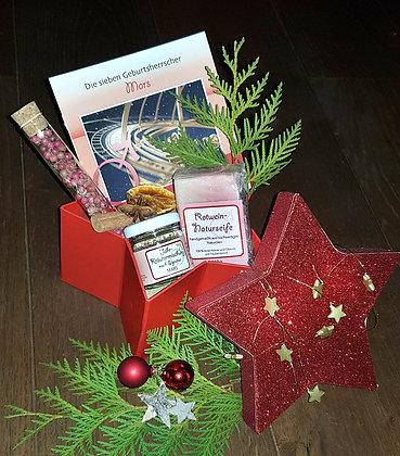 Kleines Geschenkpaket mit gratis Geburtsherrscherbestimmung