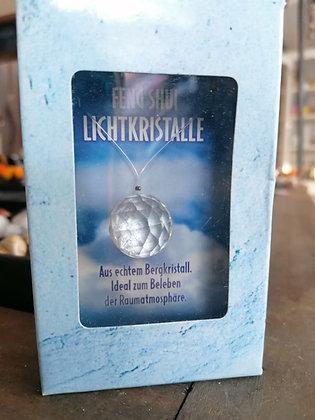 Regenbogenkristall aus echtem Bergkristall