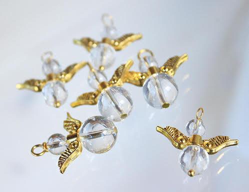 Goldene Goldfluss Engelchen