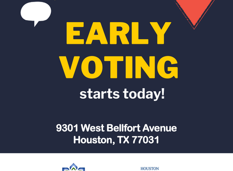 Harris County Early Voting Site