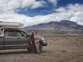 Hovering around Northern Ecuador: Otavalo, Cotopaxi, Quito & Canoa