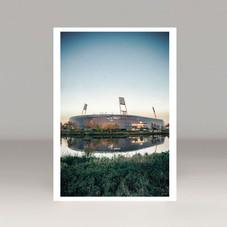 Postkarten z.B. vom Werder Stadion