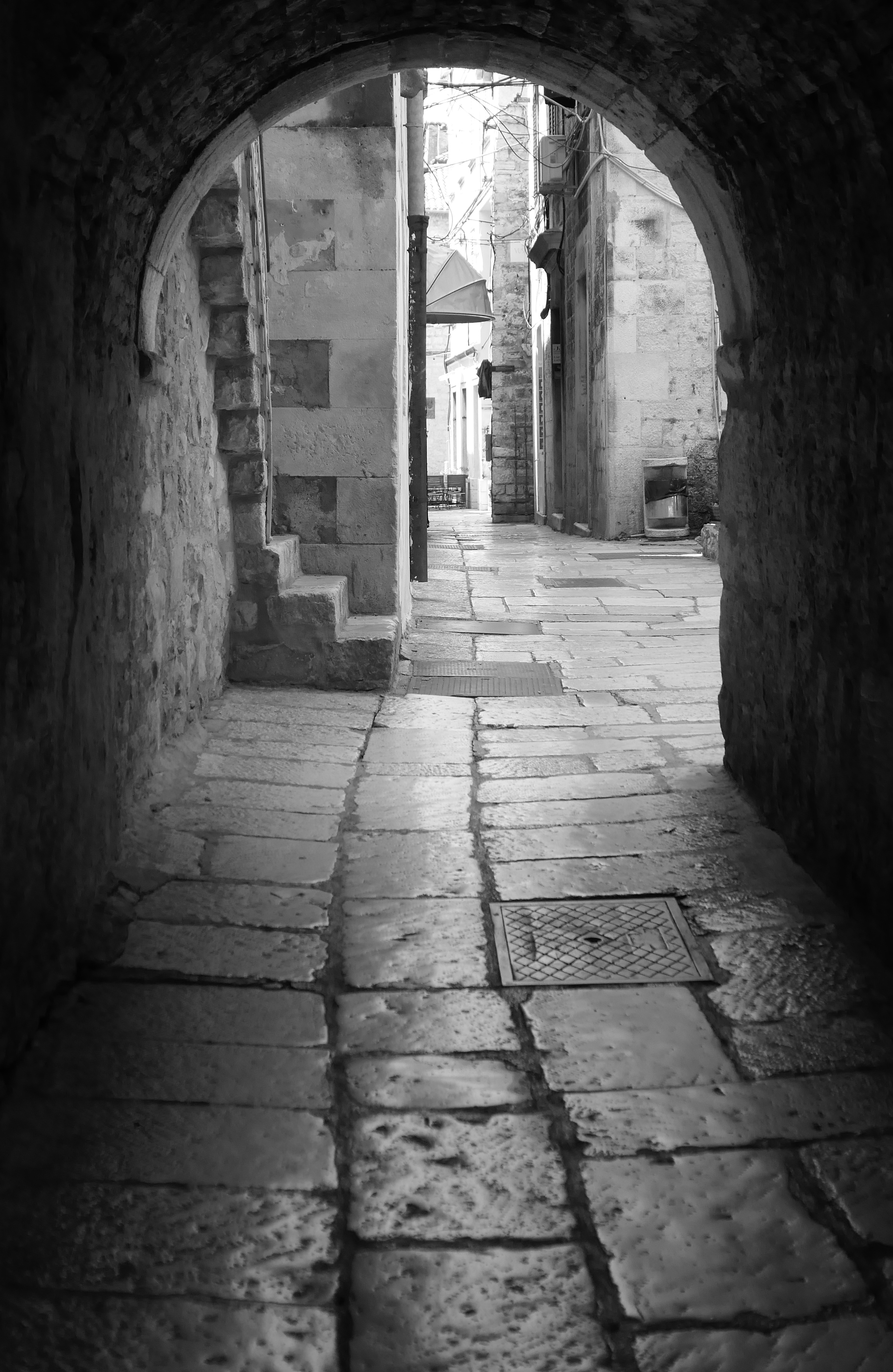 alley croatia
