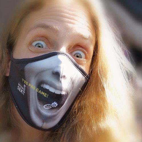 Masque T'es pas game!
