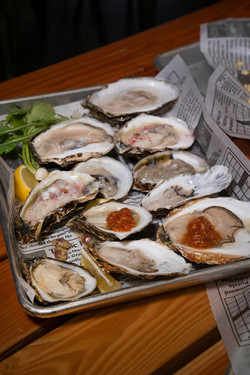 War Shore Oysters