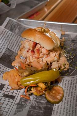 Poached Lobster Slider