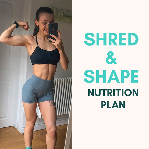 Shred & Shape: Nutrition Plan