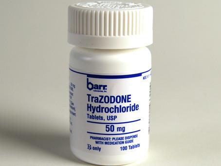 Tratamento com Donaren, Donaren Retard, Trazodona: Efeitos colaterais