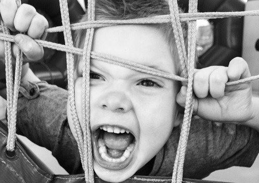 Mal comportamento em crianças
