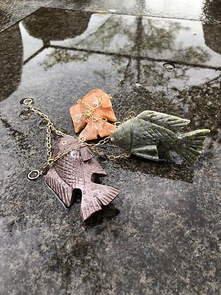 Peixe Lapidado em Pedra