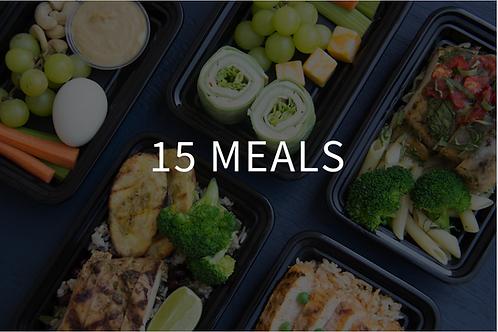 15 Meal Plan