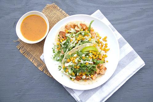 Grilled Chicken Street Taco