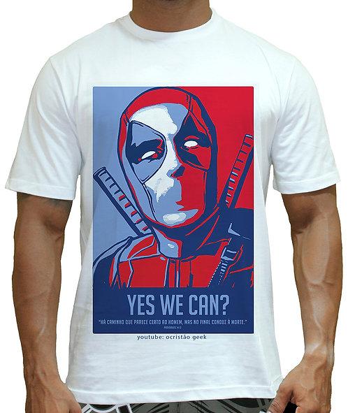 Camisa  Deadpool-Obama.