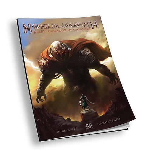 """Revista em quadrinhos: """"Kelev: Caçador de Gigantes"""""""
