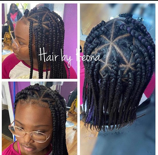Knotless/Box braids $135+