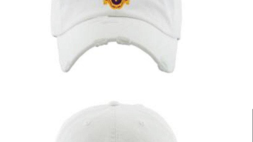 The Golden Ke Distressed Cap