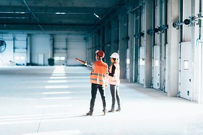 Techniker bei der Arbeit
