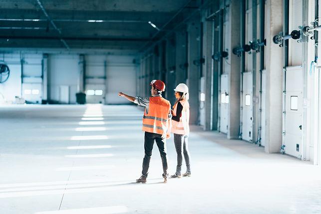 Technici op het werk
