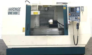 Hardinge VMC 800 II - Vertical Mill