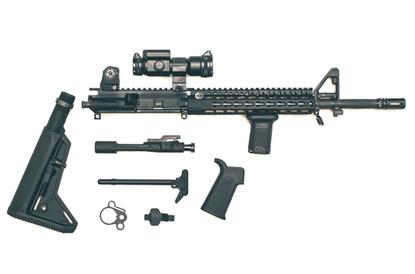 AR Rifle Breakdown