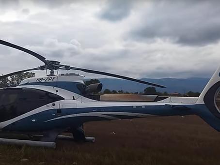 Αναγκαστική προσγείωση ελικοπτέρου σε χωράφι